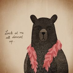 Bear Dress-up by Michelle Carlslund