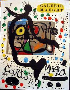 Galerie Maeght, Cartons  1962 - Miro