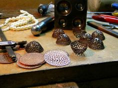 wu ching chih - piercing enamel plique a jour