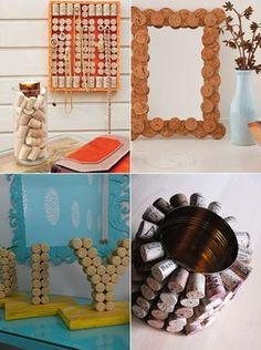 DIY: Decoração com rolhas