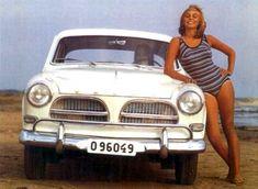 Volvo Amazone Pin Up