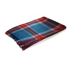 Buy Wool Blanket in Blue and Brown Check online @ Rs. 875 only. Visit Loomkart.com for blankets & quilts online at best price.