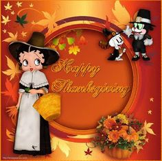 Betty Boop Pictures Archive: Thanksgiving