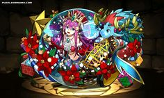 Enchantress of the Sanctuary, Siren stats, skills, evolution, location   Puzzle & Dragons Database
