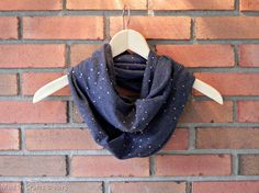 DIY Faux Studded Infinity Scarf