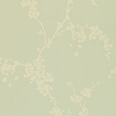 blossom tree wallpaper in duck egg from sanderson. borocay collection.