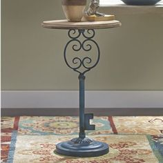 Beautiful key accent table
