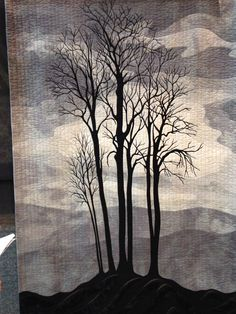 'Silence' by Jean McLean.  2015 Festival of Quilts (UK).  Photo by Claire Payne.