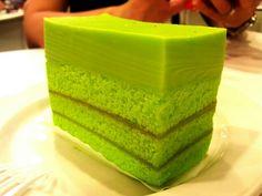 My all time favourite cake - kaya pandan cake