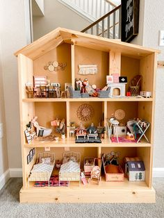 DIY DOLLHOUSE PLANS — The Ever Co Ikea Dollhouse, Dollhouse Furniture, Dollhouse Ideas, Baby Doll Furniture, Doll House Plans, Cheap Dolls, Parents Room, Hanging Mobile, Craft Business
