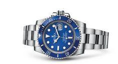 Rolex Submariner Date Watch: 18 ct white gold - 116619LB