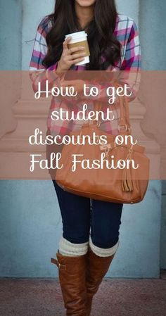 Studentrate has discounts you can find anywhere else for your favorite fall fashions! Check out all the brands there