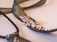 Embellished Butterfly Ribbon Headband DIY