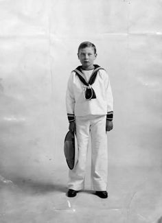 The Prince John (youngest child of King George V and Queen Mary) in 1913.