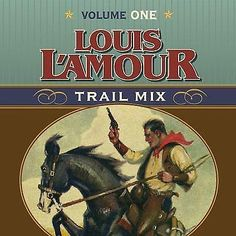 NEW Louis L'Amour Trail Mix: Volume 1 by Louis L'Amour Compact Disc Book (Englis