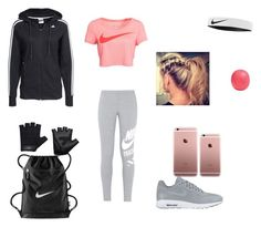 """""""Workout- Becoming An Avenger"""" by izzefizzy ❤ liked on Polyvore featuring NIKE, Eos and Casall"""