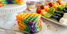 Build a rainbow breakfast spread with the help of Genius Kitchen! Youre guests (and kids!) will love the vibrant color and flavor.
