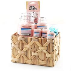 Pink Sands™ Gift Basket : Yankee Candle | For the Home | Pinterest ...