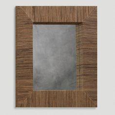 One of my favorite discoveries at WorldMarket.com: Water Hyacinth Rectangular Mirror