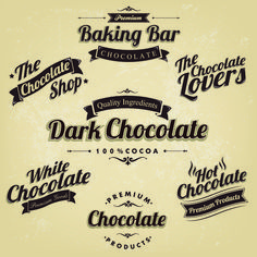 Find Premium Retro Chocolate Vintage Label Set stock images in HD and millions of other royalty-free stock photos, illustrations and vectors in the Shutterstock collection. Thousands of new, high-quality pictures added every day. Tag Design, Vector Design, Vintage Labels, Retro Vintage, Vintage Style, Chocolate Shop, Chocolate Festival, Graphic Design Inspiration, Business Card Design