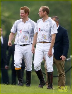 Prince Harry & Prince William Play in the Audi Polo Challenge