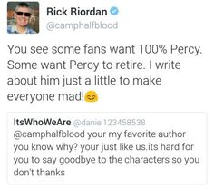 Find images and videos about text, percy jackson and troll on We Heart It - the app to get lost in what you love. Percy Jackson Memes, Percy Jackson Books, Percy Jackson Fandom, Solangelo, Percabeth, Trials Of Apollo, Magnus Chase, Rick Riordan Books, Uncle Rick