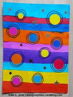 It turns a little but we do it quickly! Diary Covers, Dot Day, Ecole Art, Circle Art, Art Journal Techniques, Art Challenge, Art Plastique, Pre School, Preschool Activities