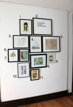 2 rules for hanging things on your walls | fabuloushomeblog.comfabuloushomeblog.com