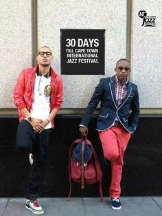 2 of SA's hottest rappers - AKA and Khuli Chana . Jazz Festival, Human Soul, Film Books, Nice Dresses, That Look, Music, Clothing, People, How To Wear