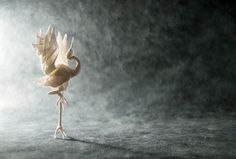 """""""Reach the heaven"""" - beautiful origami art by Madrid-based artist Gonzalo"""