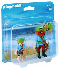 Embark on swashbuckling adventures with the Pirate Mates Duo Pack. Play with this set on its own or combine it with any other Playmobil set. Playmobil Pirates, Playmobil Sets, Lunch Box, Family Guy, Ebay, Baseball Cards, Adventure, Toys, Sports