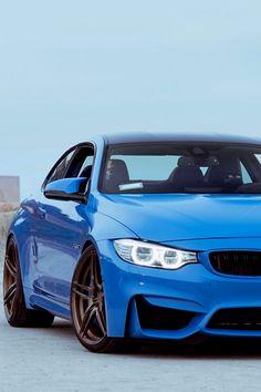Blue BMW m