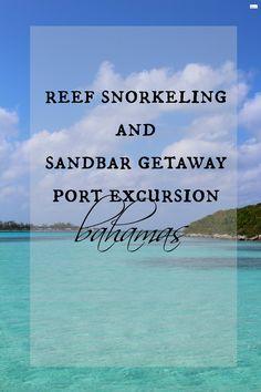Reef Sorkeling and Sandbar Getaway Port Excursion #caravansonnet #royalcaribbeancruise #cruising #port excursions #bahamas