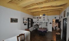 Estancia principal del museo, con su característico techo. :: R. V.
