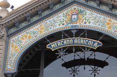 The exterior of the revamped Mercado Agricola building