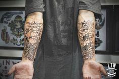 Cisco, Studio LTW Tattoo #nautical #lighthouse