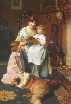 The Bedtime Story by Arthur Elsley