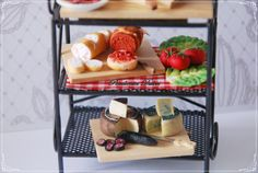 dollhouse miniature furniture with food by PENDIENTESDULCES1, $192.00