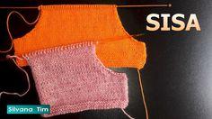 Ondori motif and edging designs Knitting Videos, Loom Knitting, Knitting Stitches, Knitting Patterns, Hairpin Lace Crochet, Knit Crochet, Crochet Hats, Cardigan Design, Crochet Bracelet