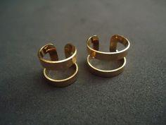 conjunto anel+ anel falange dourado regulavel R$49,00