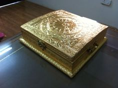 Golden Box - KIPI CREATIONS