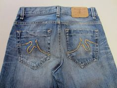 Sutters Juniors 49R Jeans 28 Boot Cut Distressed #Sutters #BootCut
