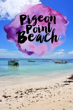 How To Spend a Day at Pigeon Point Beach, Trinidad and Tobago.