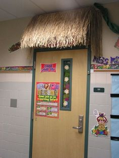Image detail for -Front door-Jungle theme tiki hut