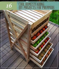 Homesteading DIY projects for preppers, unique off the grid projects. | http://pioneersettler.com/16-cool-homesteading-diy-projects-preppers/