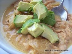 White Bean Chicken Chili- SCD and GAPS Friendly.  A great crockpot meal that is a nice change of pace from red chili