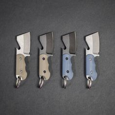 The Berg Blades Bottle Butcher combines a compact keychain knife with a bottle-opener. Get poppin'!