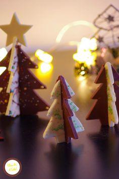 recette Sapins en chocolat pour Noël
