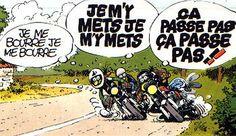 Classic Cartoon Characters, Classic Cartoons, Motorcycle Types, Motorcycle Art, Bd Cool, Joe Bar, Cafe Racing, Camping Car, Lol