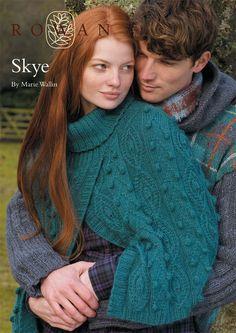 "loveknittingcom: ""Start knitting for fall: FREE Rowan poncho pattern download at LoveKnitting! """